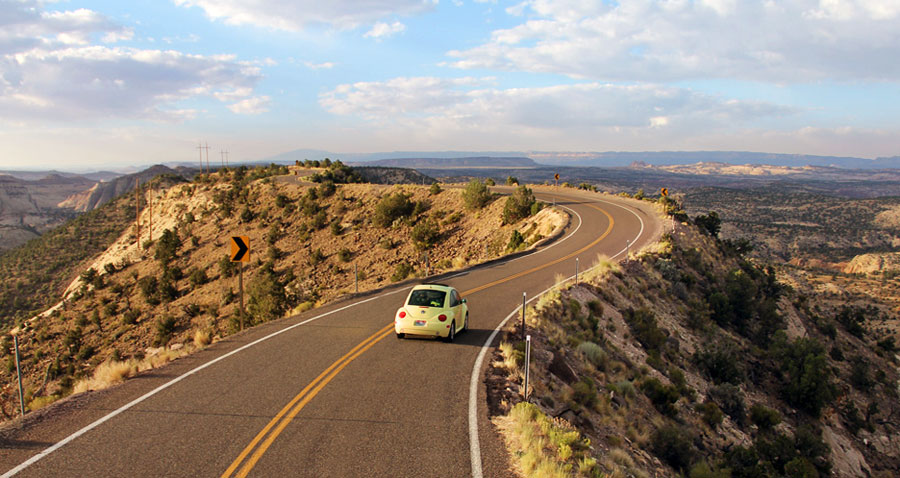 If you got a speeding ticket while cruising across Utah's splendid desolation…