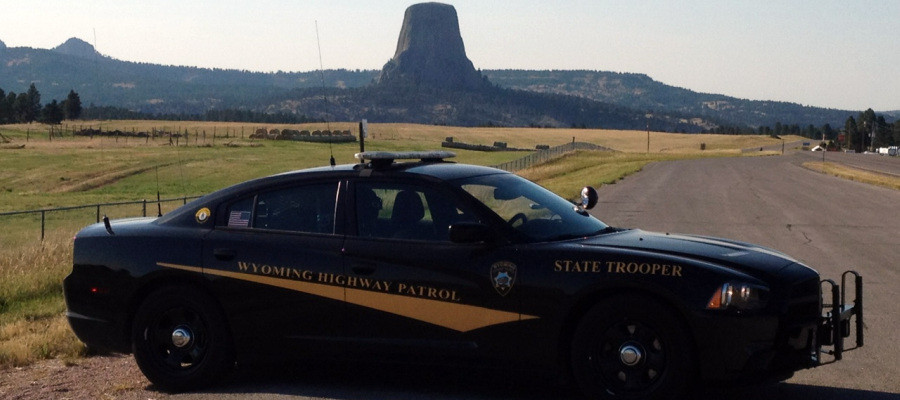 How does the Wyoming speeding ticket system work?